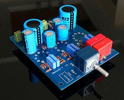 FidgetFidget tube amplifier preamplifier assembled board based on Marantz 7 classical circuit by FidgetFidget