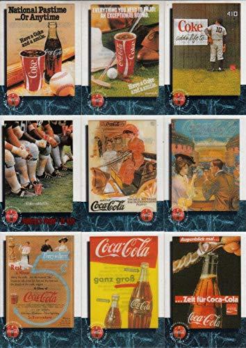 COCA COLA SPRINT PHONE CARDS/CELS PREMIER 1995 BASE CARD SET OF 50 CELS