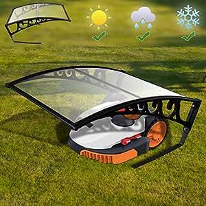 Hengda® Cubierta de Garaje para Robot Cortacésped Garaje para robot cortacésped Robot cortacésped de garaje Caseta para robots cortacésped: Amazon.es: ...
