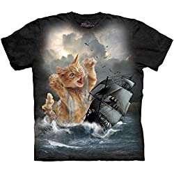 The Mountain Men's Krakitten T-Shirt Black XL