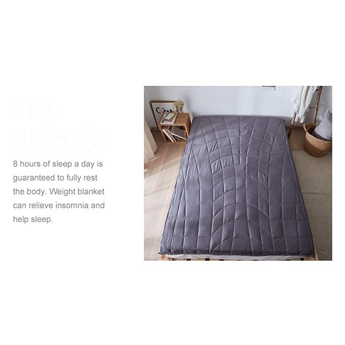 Textile Manta De Gravedad Mejore El Sueño Y El Alivio del Estrés: Manta Ponderada, Mejor Regalo (Tamaño : 100 * 150cm-6.8kg): Amazon.es: Hogar