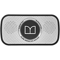 Monster Power Superstar High Definition Bluetooth Speaker (Black/Grey)-Ultra compact, Water-resistant