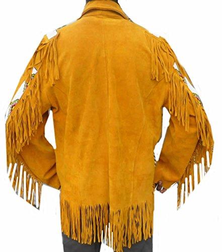 Uomo Cappotto Cappotto Suede Coolhides Coolhides Suede Yellow Uomo 1CawqT5
