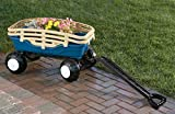 American Plastic Toy Deluxe Runabout Stake Wagon