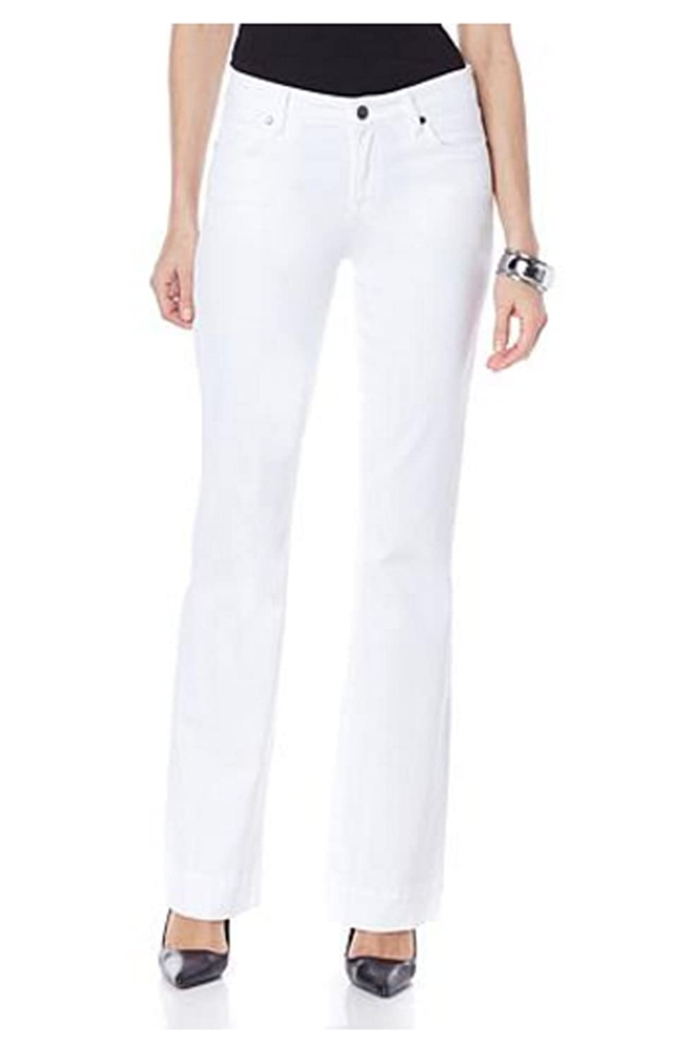 CJ by Cookie Johnson Women's Worthy Flare Jean Optic White (34)