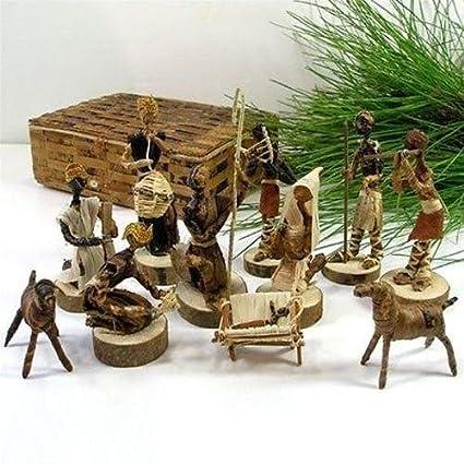 Amazon Com Nativity Set Christmas Decorations Handmade Jesus