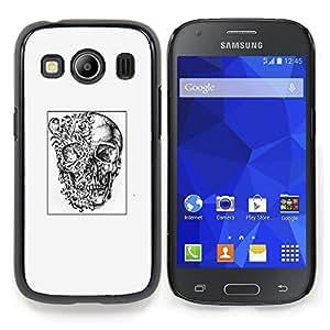Planetar ( Yeux Visage Nez Cartoon ) Samsung Galaxy Ace Style LTE/ G357 Fundas Cover Cubre Hard Case Cover