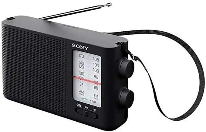 Radio Sony ICF-19 Analógico portátil FM/AM - Preto por Sony
