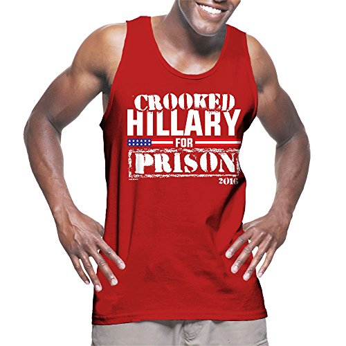 Mens Crooked Hillary Prison T shirt