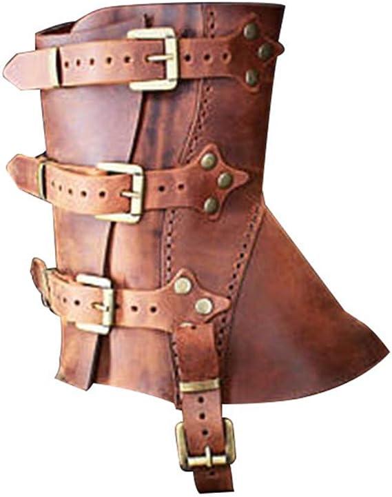 GladiolusA Médiéval Couvre Bottes Vikings Pirate Déguisement Accessoire Renaissance Victoria Chaussures Couvre