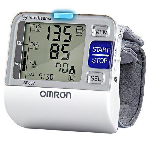 Omron IntelliSense BP652 Blood Pressure Monitor - Automatic - 200 Reading(s)