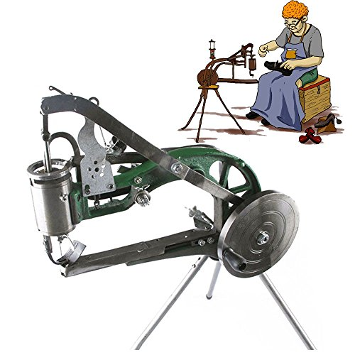 Manual Cloth/Leather Cobbler Shoes Repair Machine Nylon Line Sewing Machine