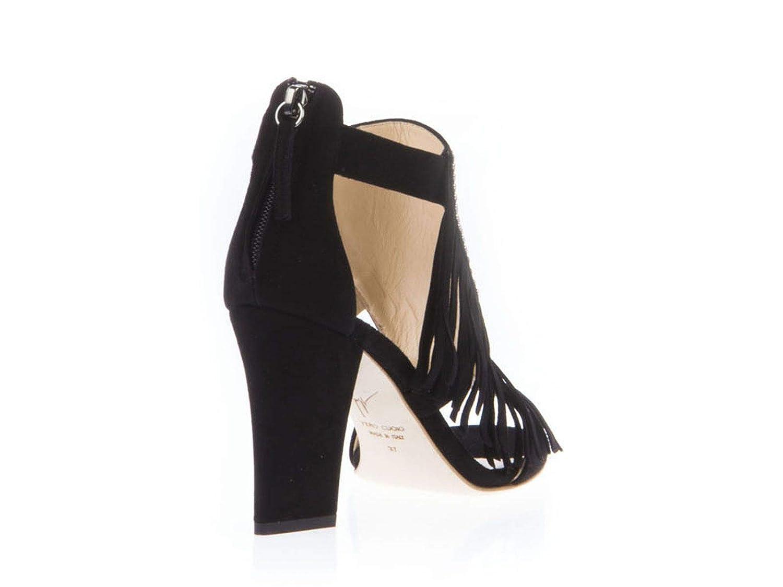 167facbb36b84 Amazon.com | Giuseppe Zanotti Design Women's E60094001 Black Suede Ankle  Boots | Ankle & Bootie