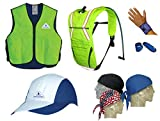The Ultimate Summer Cooling Kit - GET ALL 7 PIECES - HI-VIZ LIMEX-SMALL