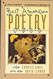 img - for The Best American Poetry: 1992 book / textbook / text book