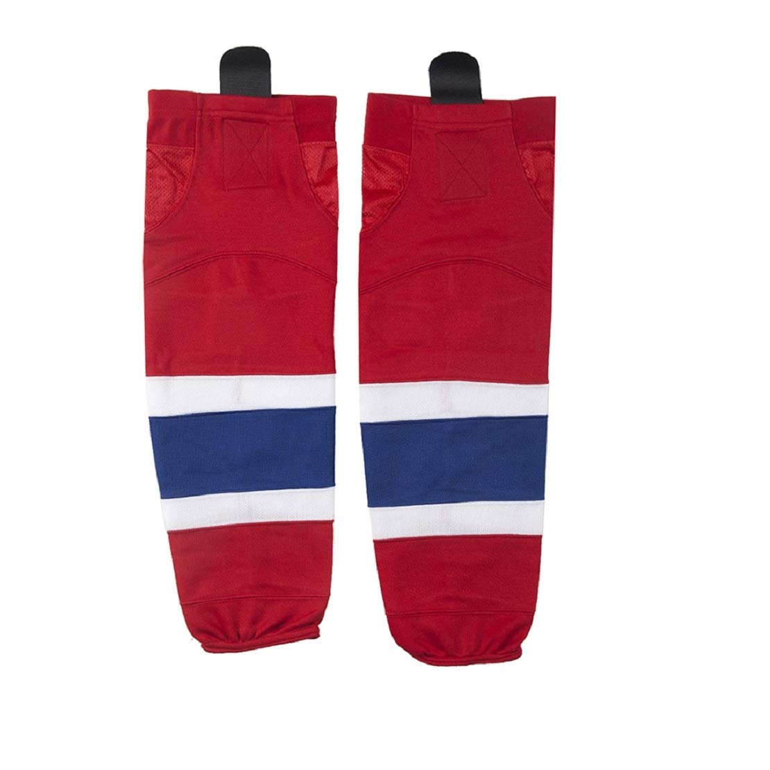 COLDINDOOR Youth Hokcey Socks, Kids Junior School Practice Ice Hockey Socks XS Red by COLDINDOOR