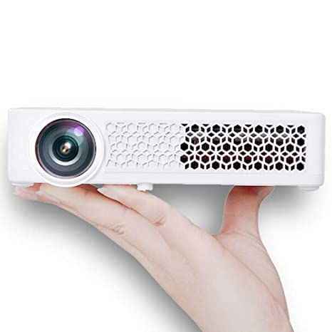 Amazon.com: Proyector - Compacto y portátil, Dual Bluetooth ...