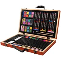 Darice 80-Piece Deluxe Art Set – Art Supplies for...