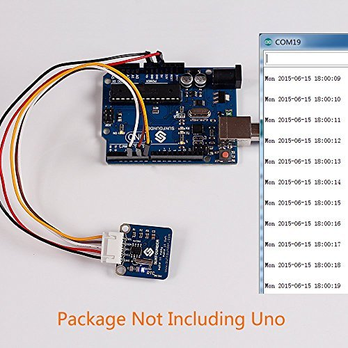 SunFounder RTC DS1302 Real Time Clock Module for Arduino and Raspberry Pi