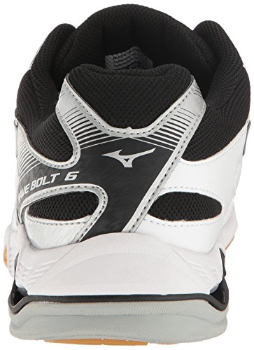 Mizuno Men's Wave Bolt 6 Volleyball-Shoes White/Black 2015 online where to buy low price footlocker pictures sale online Inexpensive cheap price original cheap online 4ZVWFXbA
