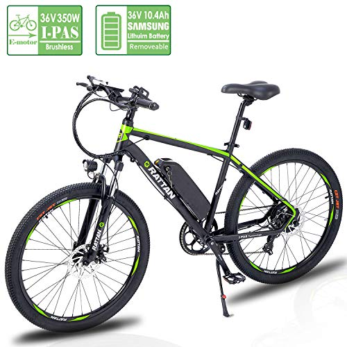 Reibok Ebike IPAS New Technology Electric Bicycle 26 inch Rattan 350W IPAS Motor Shimano 7 Speed...
