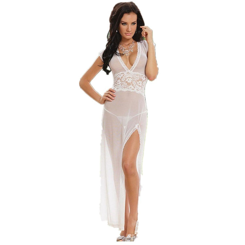 f6b40bc19dc2 Fastar ropa interior para mujer Vestido atractivo del cordón ropa interior  ropa de noche de Babydoll