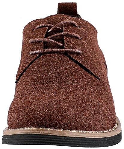 Suede Lace Up SKOEX Casual Shoe Dress Mens Brown Oxford axppY15q