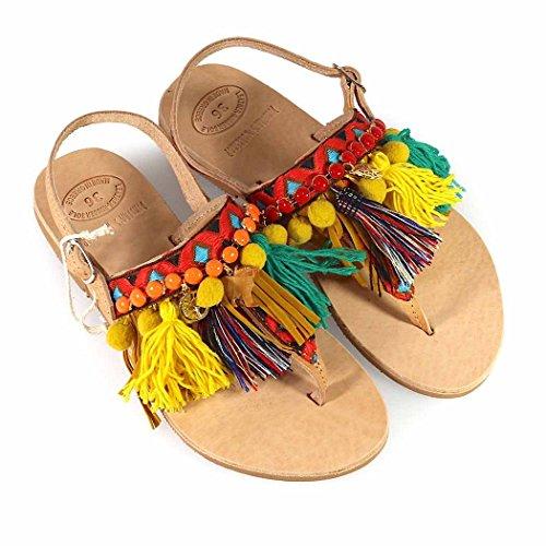 De Mujer 2018 Afrika Verano Sandalia Workshop Zapatos Primavera Dimitra's df5qdvw