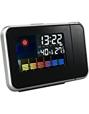 Electronic Clock, with Projector, Alarm and Weather Display