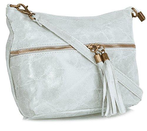 Gris Sacs Handbag bandoulière Clair Shop Big femme xCXq4w0CWS