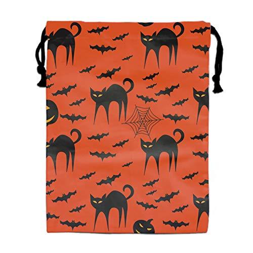Halloween Fierce Kitty Travel Drawstring Bag Shoe Laundry Underwear Makeup Storage Pouch]()