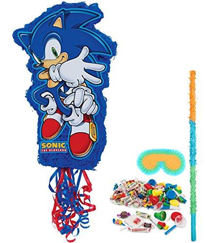 BirthdayExpress Sonic the Hedgehog Party Supplies - Pinata Kit by BirthdayExpress