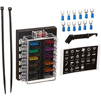 Amazon Com Dc 32v 12 Way Terminals Circuit Atc Ato Car