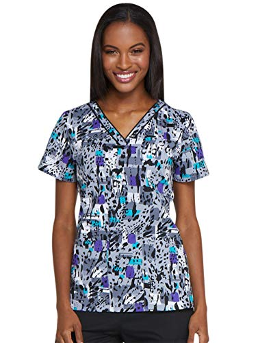 Dickies Purr-fect Strokes V-Neck Top