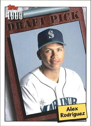 Amazoncom 2005 Topps A Rod Spokesman Baseball Card 1 Alex
