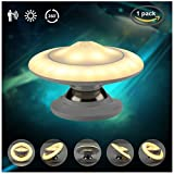 3T Wireless Motion Sensor Light,360 Degree Rotatable Ufo Led Night Light Stick-anywhere Closet Lights Stair Lights, Safe Lights For Hallway, Bedroom, Kitchen, Bathroom