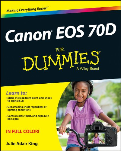 Canon EOS 70D For Dummies (Canon Camera D70)