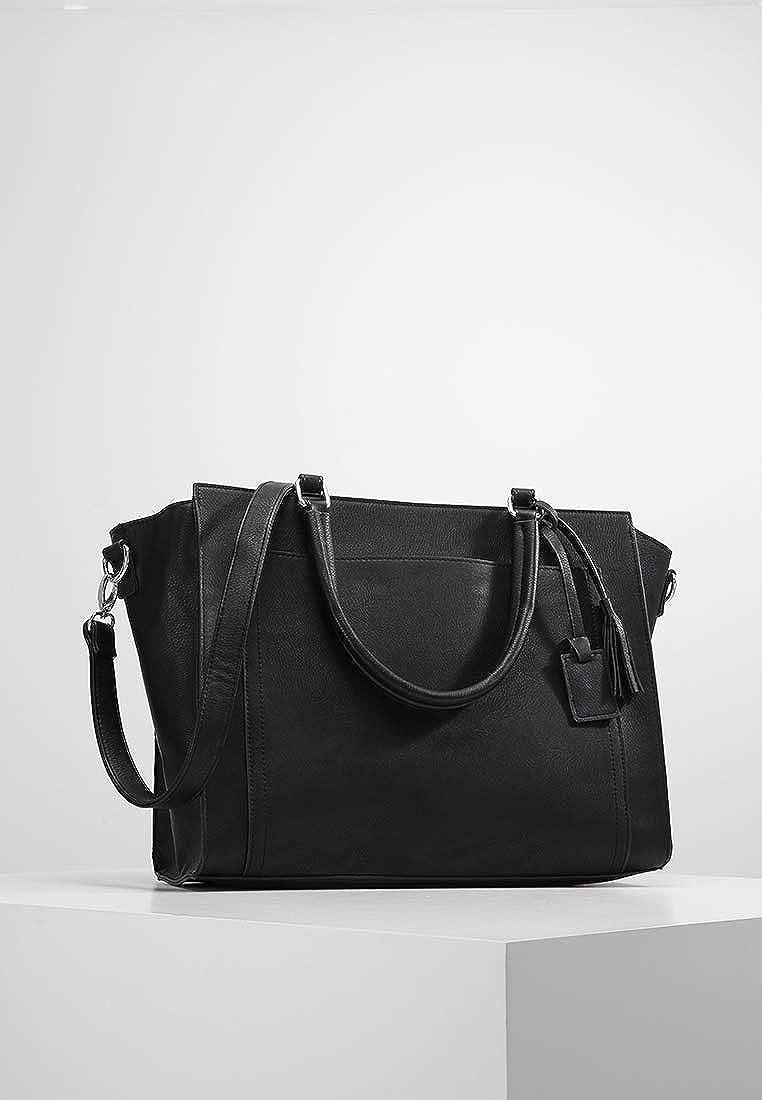8766f859b Anna Field Sac à main élégant - Grand sac pour femmes en similicuir de  haute qualité avec bandoulière amovible - Sac cabas tendance pratique