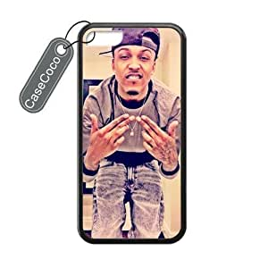 diy phone caseAugust Alsina Custom iphone 6 plus 5.5 inch Phone Case Cover, Blackdiy phone case