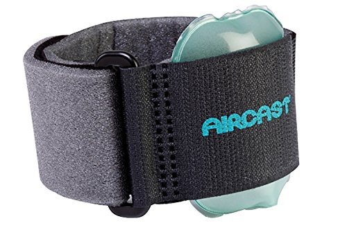 Pneumatic Armband for tennis elbow - black ()