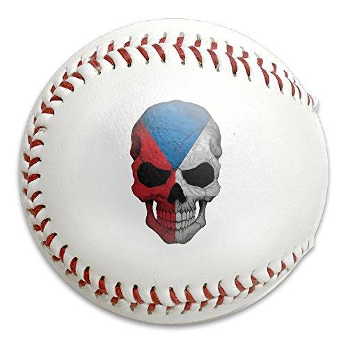 Czech Republic Skull Size 9 Safety Soft Baseballs Bullet Ball Training Ball - Prague Sunglasses