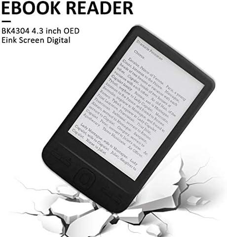 DaysAgo Lector de Libros ElectróNicos E-Ink de 4.3 Pulgadas 800X600 Ereader Libro de Papel ElectróNico con Cubierta de PU de Luz Frontal (4G): Amazon.es: Electrónica