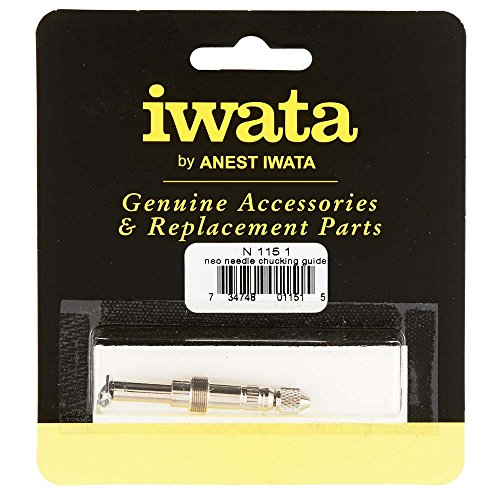 - Iwata-Medea N1151 Needle Chucking Guide Assembly, Silver