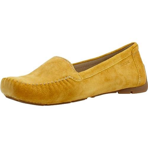 Mocasines para Mujer, Color Amarillo, Marca STONEFLY, Modelo Mocasines para Mujer STONEFLY 104644 Amarillo: Amazon.es: Zapatos y complementos