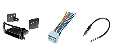 IMC Audio Single Din Dash Kit for Aftermarket Radio Installation for on rca wire, ice wire, apc wire,