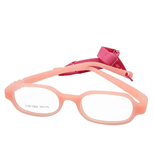 2ac44768387 EnzoDate Baby Girls   Boys Optical Glasses Size 39 15 with Strap No Screw