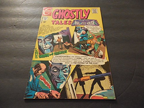 Ghostly Tales #83 December 1970 Bronze Age Charlton Comics Uncirculated