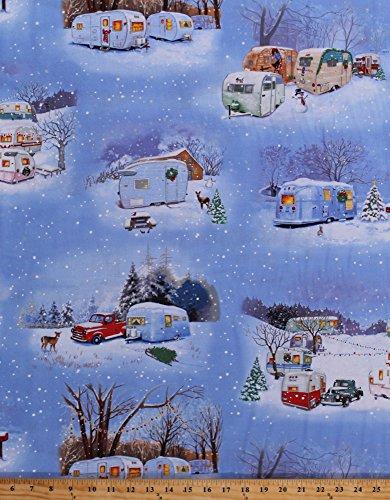 vintage christmas fabric - 2
