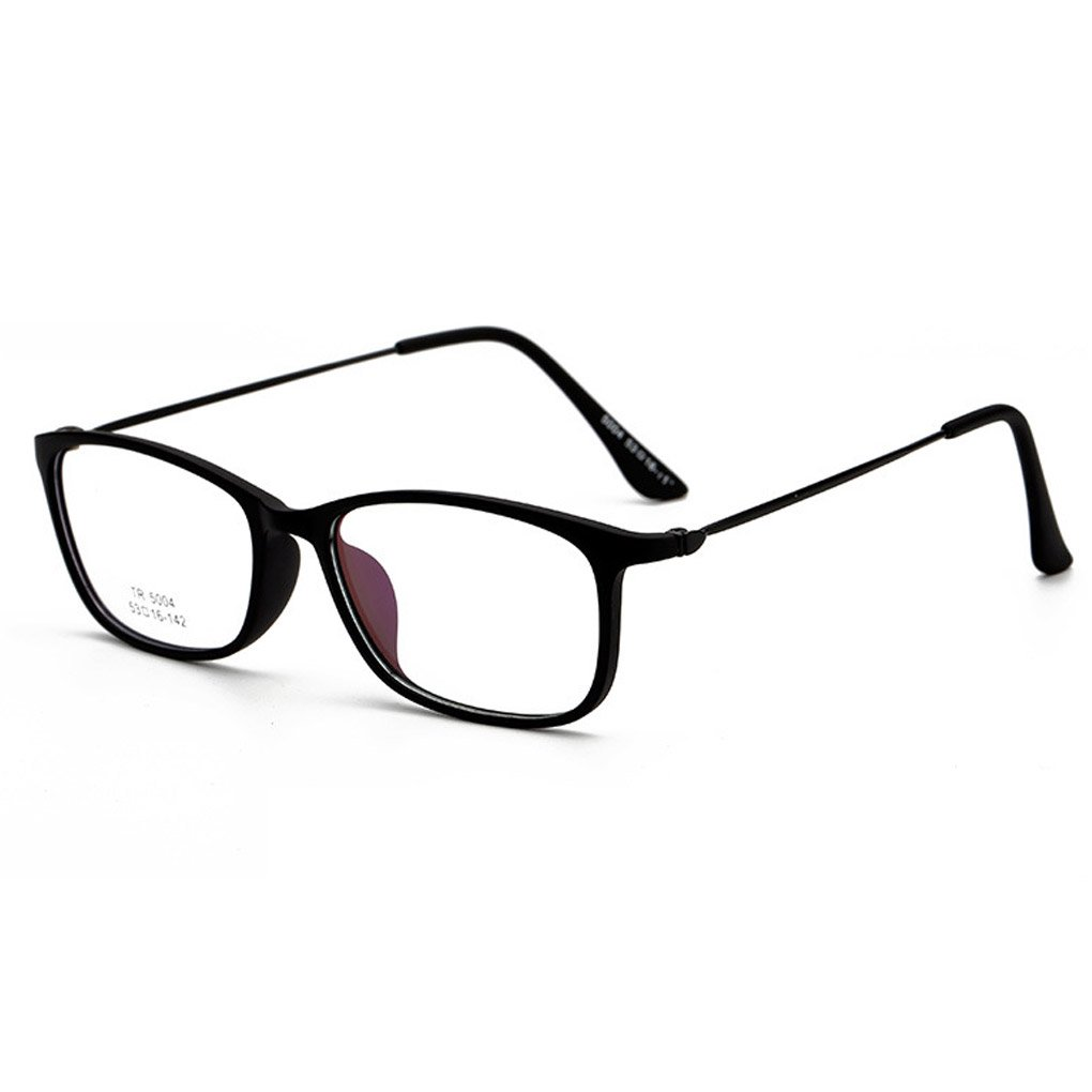QHGstore Rahmen Brillen Damen Herren Luxuxweinlese TR Material Glas ...