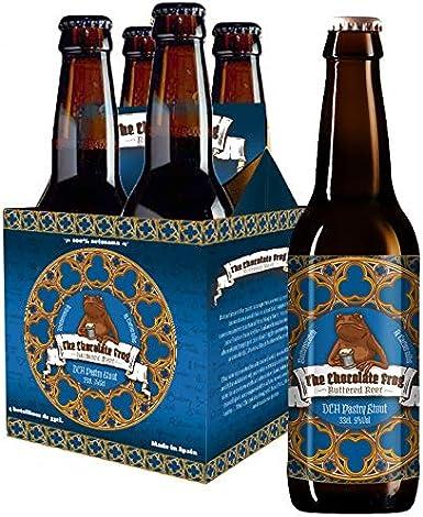 Pack 4 Cervezas de mantequilla The Chocolate Frog Harry Potter: Amazon.es: Alimentación y bebidas